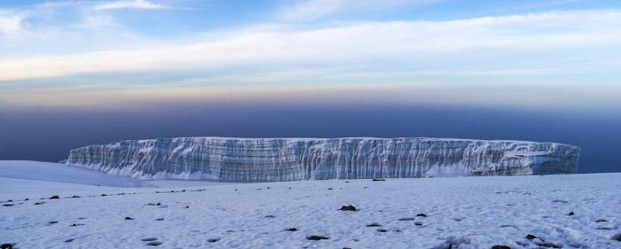 Kilimanjaro-southern-glacier