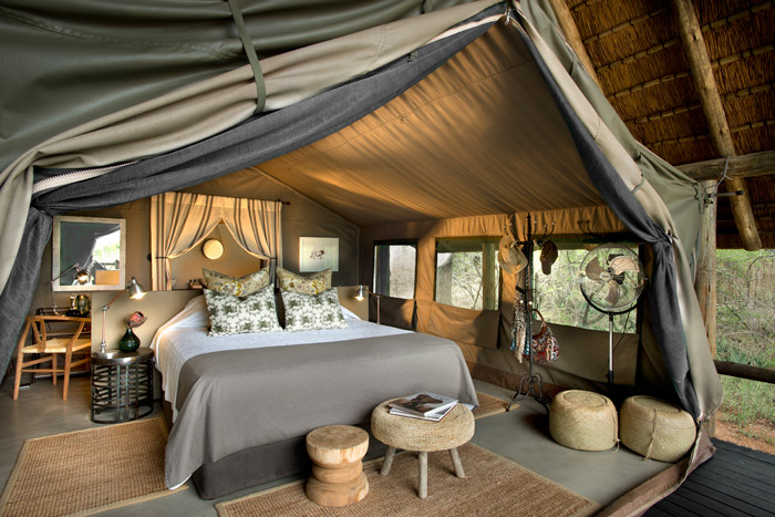 Tanda Tula safari tents