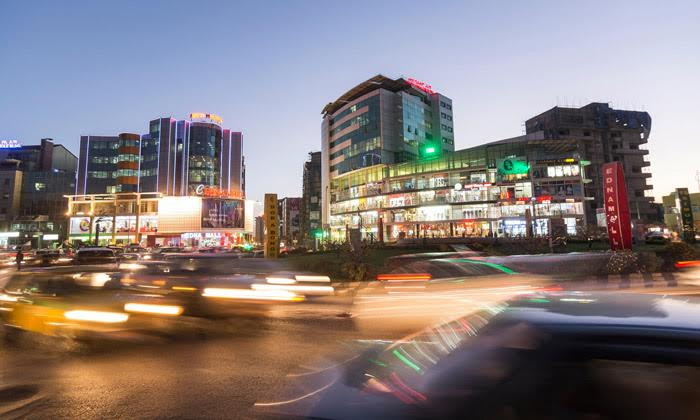 Clean energy is driving Ethiopia's vision of prosperity via industrialisation, not least in Addis Ababa, the country's capital city. © Andreas Pacek/Alamy