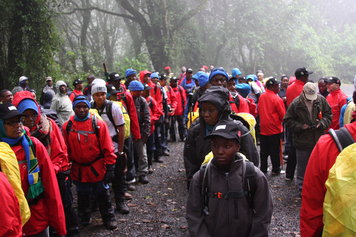 Climbers raising funds for HIV