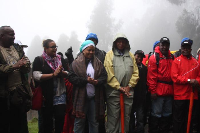 Kilimanjaro HIV/AIDS ceremony