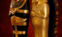 miniature coffins king tut