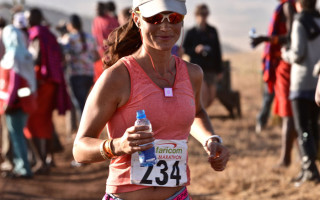 Pippa Middleton runs for rhinos