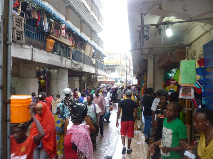 Walking around Dar es Salaam