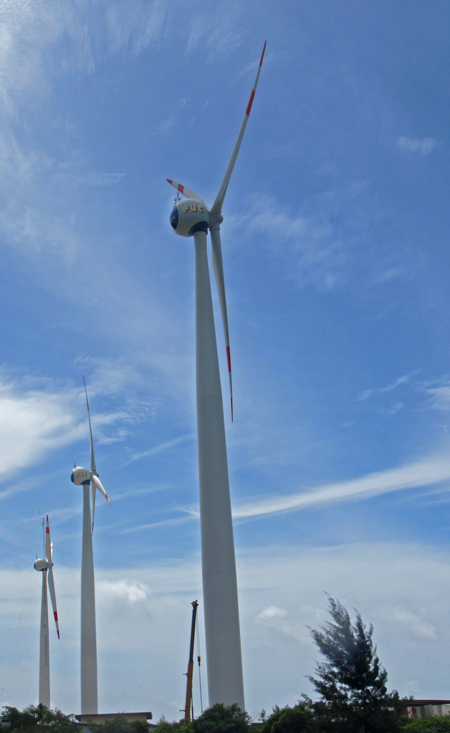 wind turbines seychelles