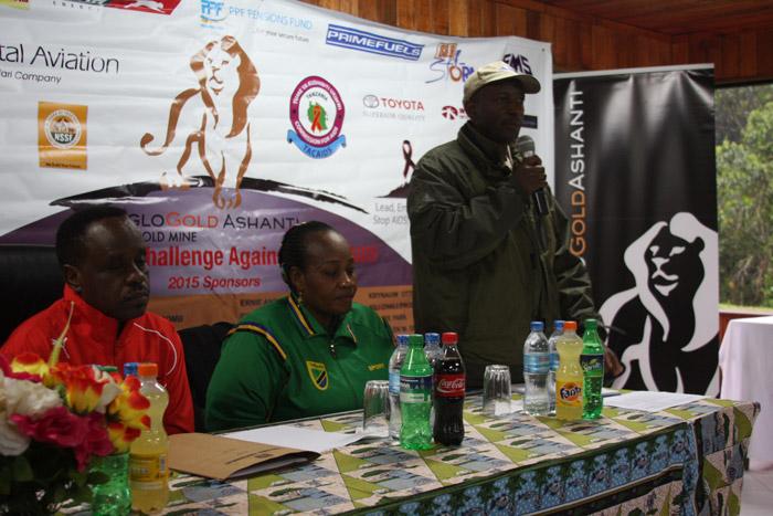 Kilimanjaro Challenge ceremony