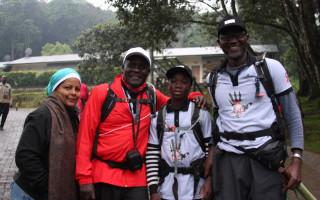 Climb up Kilimanjaro