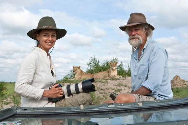 Beverly and Dereck Joubert. © Wildlife Films.