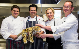 Chefs for conservation - Pieter de Jager, Christo Pretorius, Michelle Theron and Floris Smith