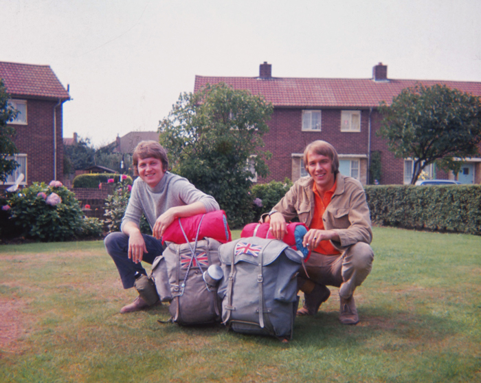 The start of the trip, looking very innocent. 16th August 1969