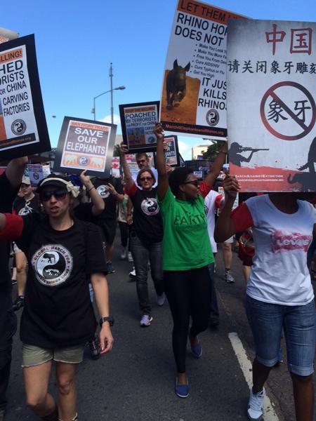 Marchers in Durban last year