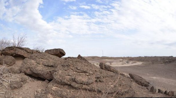 The Turkana Basin is a large, arid region known for its rich fossil-containing deposits