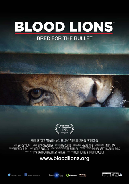 Blood Lions Film Poster. © Blood Lions