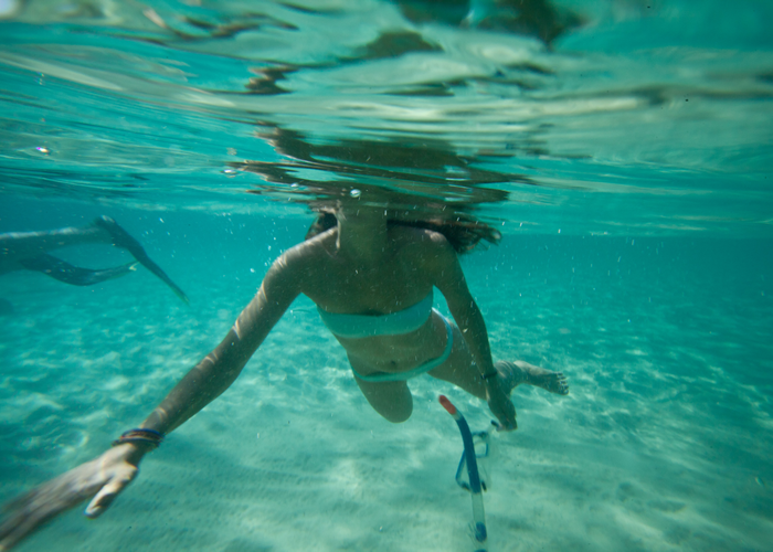 Happy snorkelling ©The Good Holiday