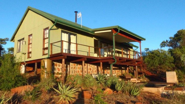 """Churchills luxury villa at Three Trees at Spioenkop is an energy and water efficient """"green"""" building"""