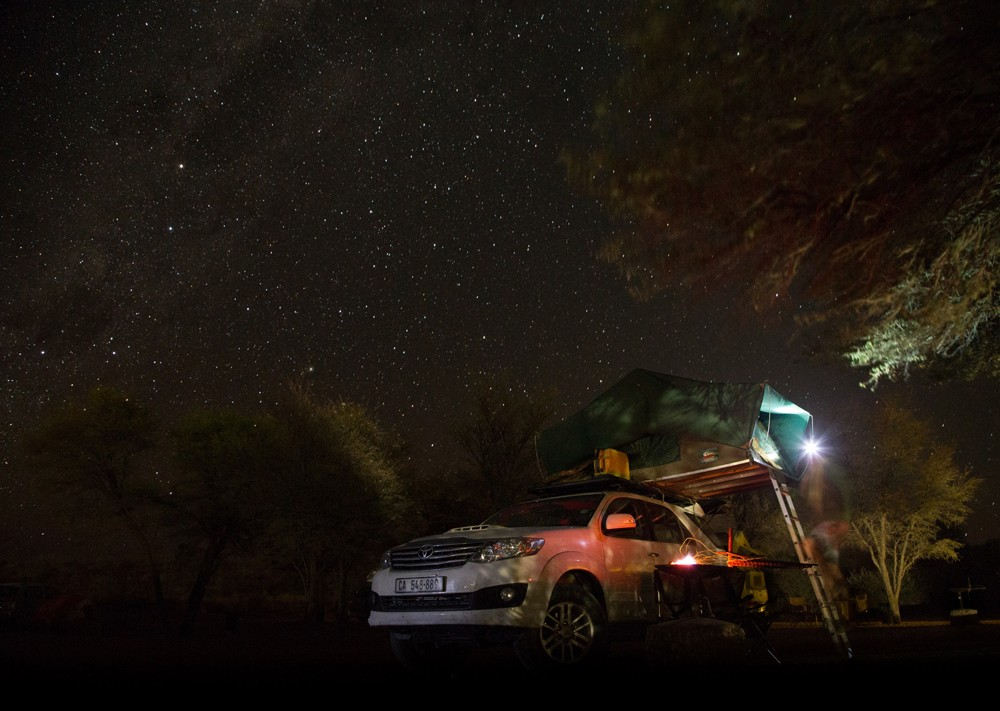 A spot of astro-photography under the beautiful Namibian stars