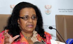 Minister of Environmental Affairs Edna Molewa