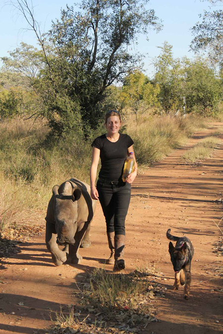 ntombi-bush-walk-with-michelle-and-dog