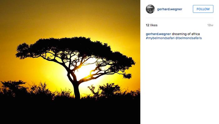 Dreaming of Africa. © @gerhard.wegner