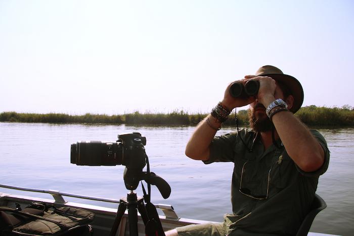 using-binoculars-in-botswana
