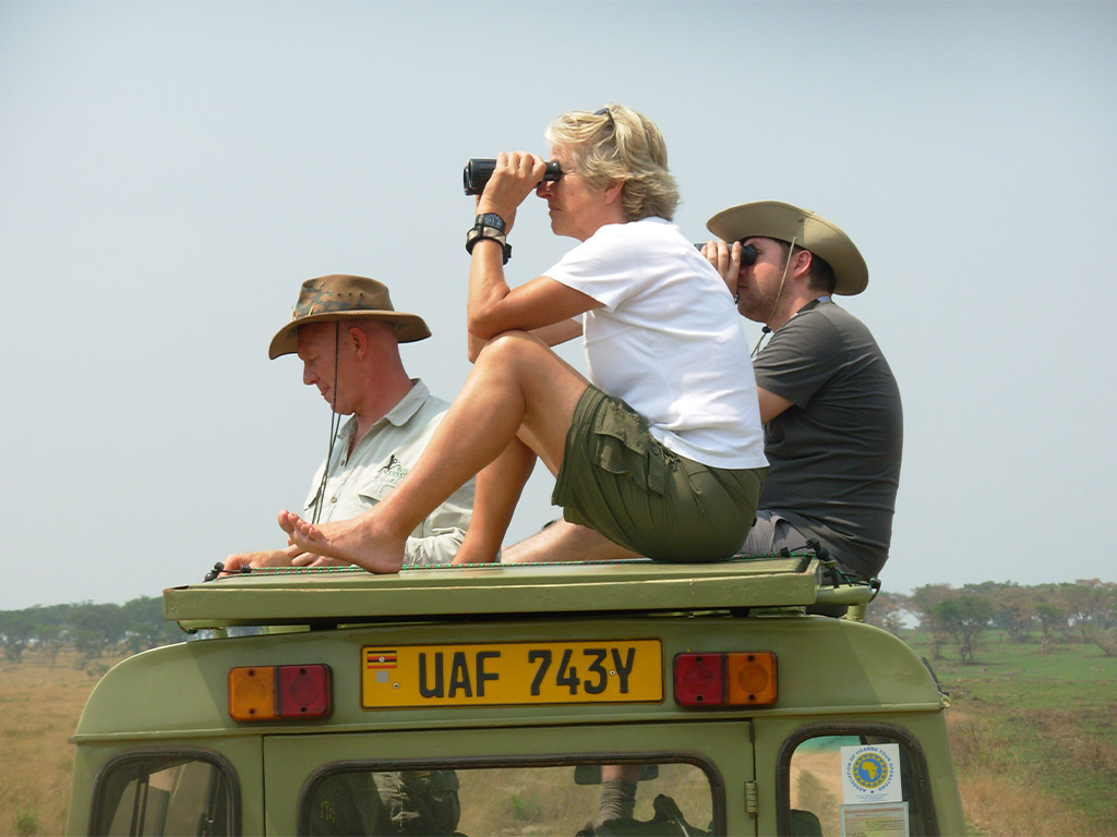 Queen Elizabeth National Park, with Africa Geographic