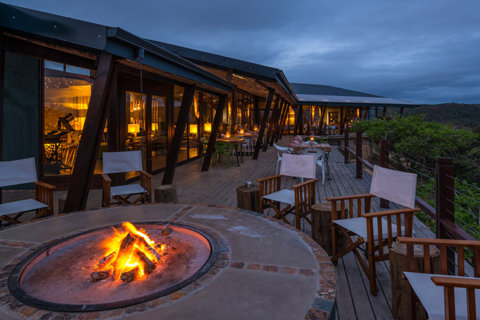 Rhino Ridge Safari Lodge in Hluhluwe is co-owned and staffed by the local Hlabisa community © Roger de la Harpe