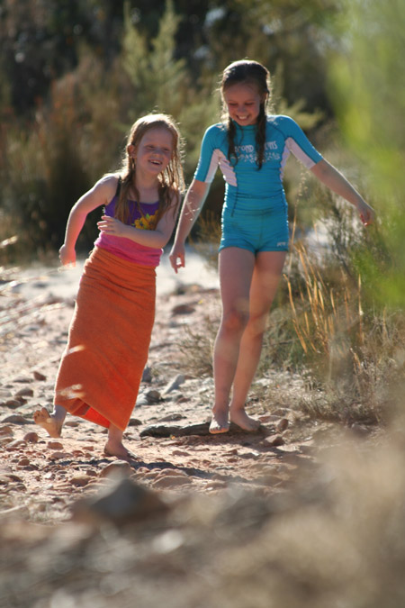Watch with joy as your children become the most free-spirited versions of themselves in the beautiful South African outdoors © Characterstays