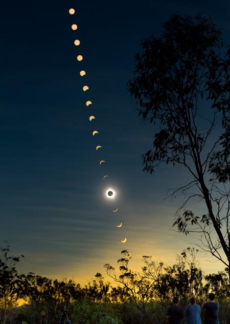 Solar eclipse ©Phil Hart