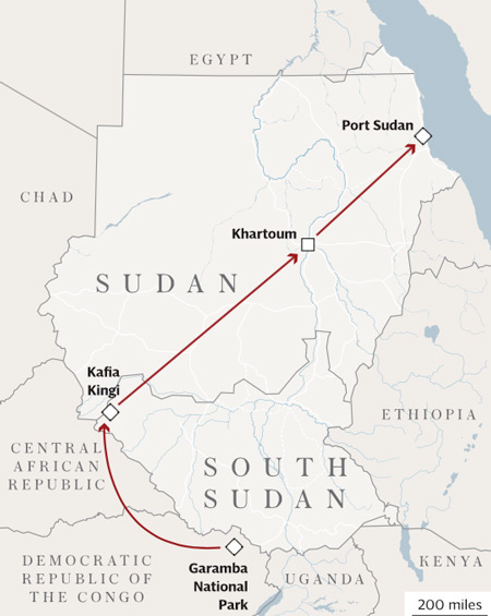 ivory-trade-route