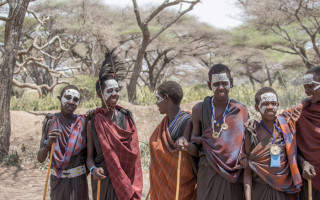 The boys in our Maasai village