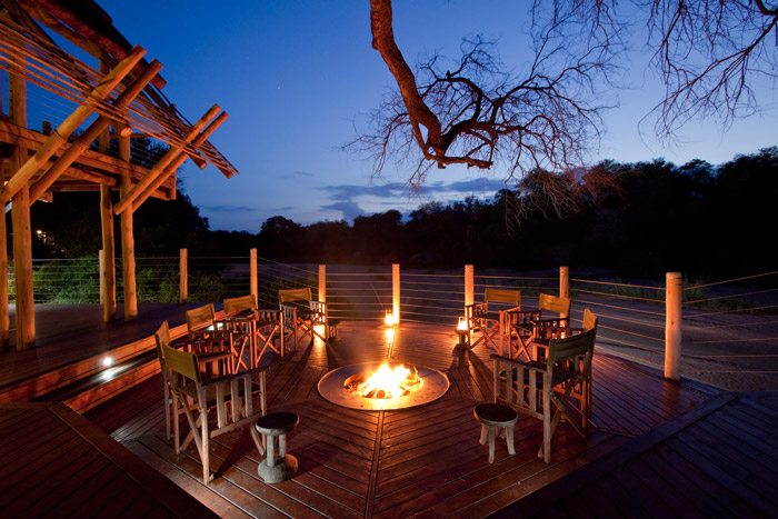 This luxurious Rhino Post Safari Lodge in the Kruger National Park offers your own private wildlife reality show. © Guy Upfold