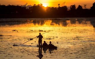 Pelo_botswana-sunset
