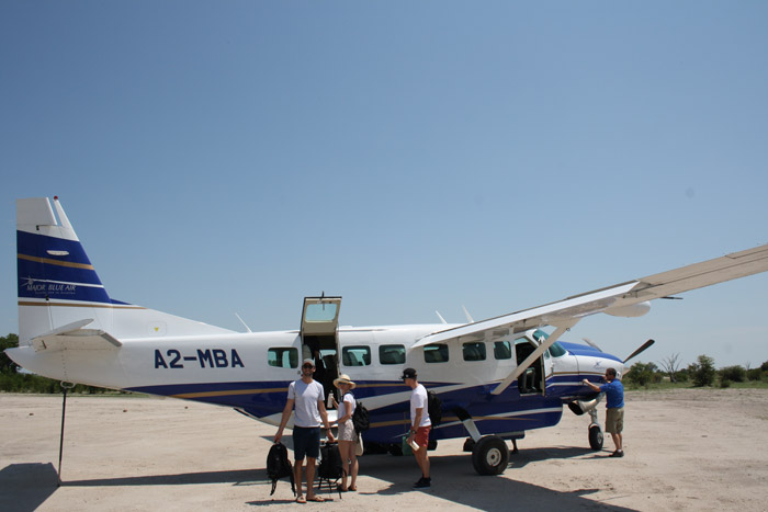 private-plane-botswana
