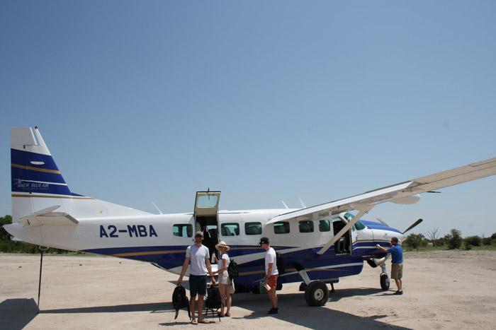 private-plane-botswana