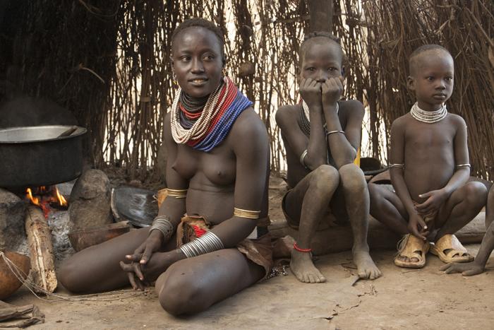 African tribe girl raped