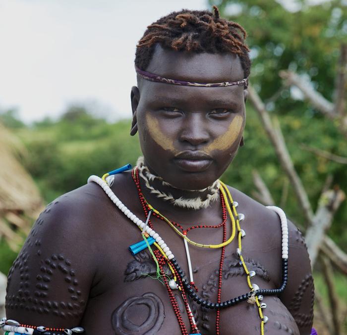 Mursi-woman-Omo Valley-Ethiopia