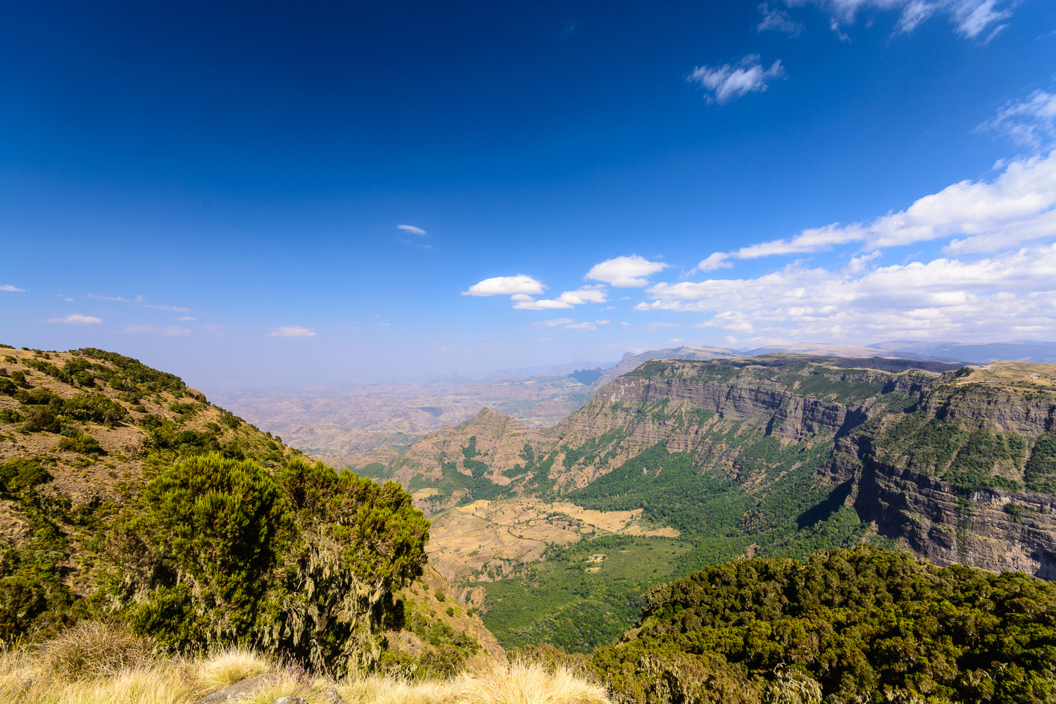 Breathtaking views of the Simien Mountains ©Ken Haley