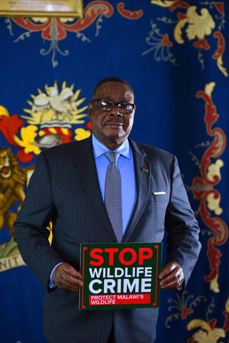 Malawai-president-supports-wildlife