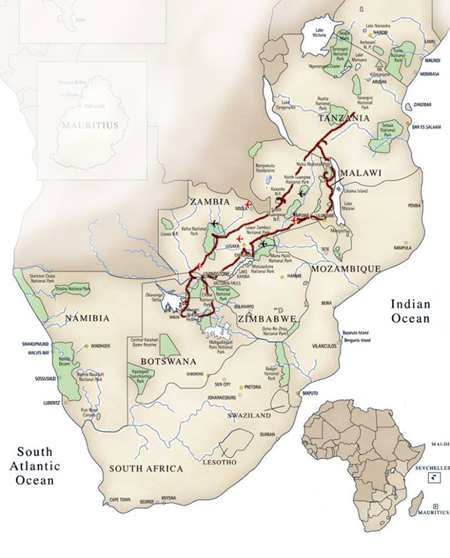 African-Conservation-Journey-Itinerary