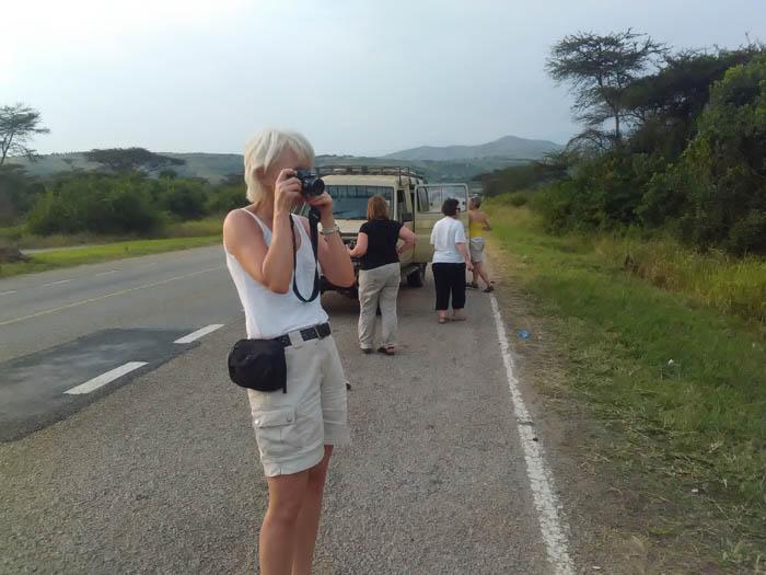 Tourist-enroute