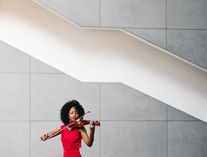Violinist In the City