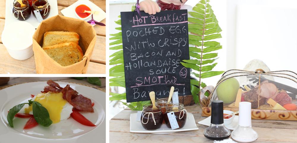 A breakfast for champions at Villa Santorini ©Kelly Winkler