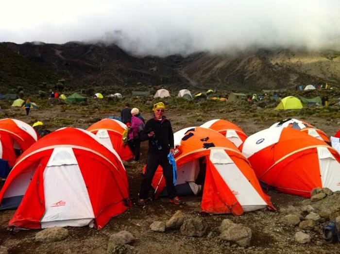 camping-on-Kilimanjaro