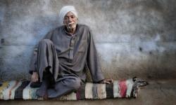 A Nubian man in a Nubian village of Aswan in Egypt