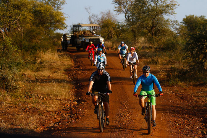cycle event Madikwe Game Reserve