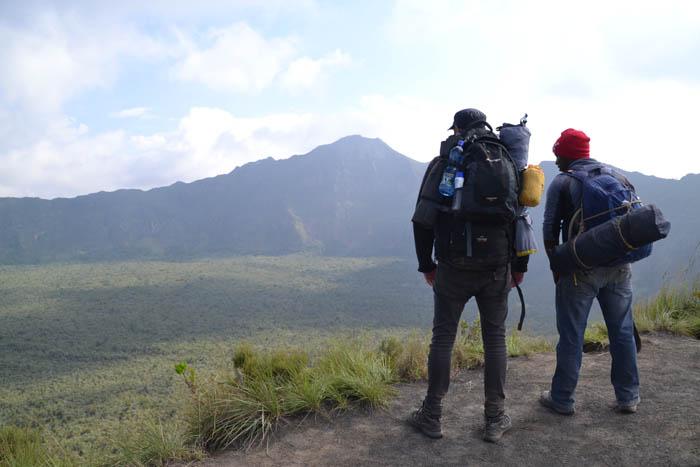 Kenya Mount Longonot African Volcano