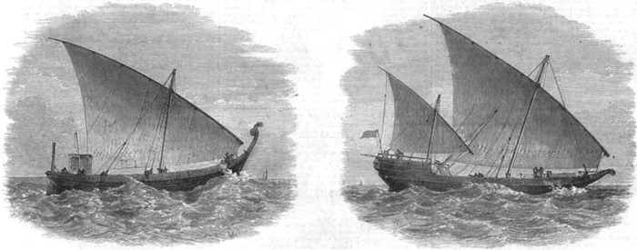 Dhow-historic-drawing