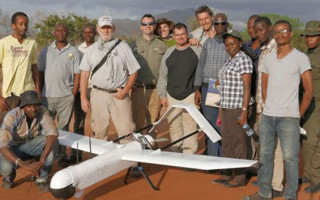 Unmaned Aerial Vehicle (UAV), Super Bat DA 50, to be used at Tarangire national park. Photo/ By ADAM IHUCHA