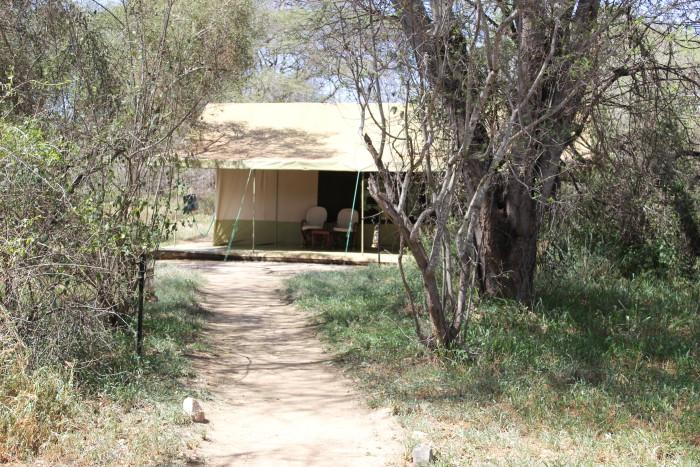 A luxury tent at Porini Amboseli ©David Winch