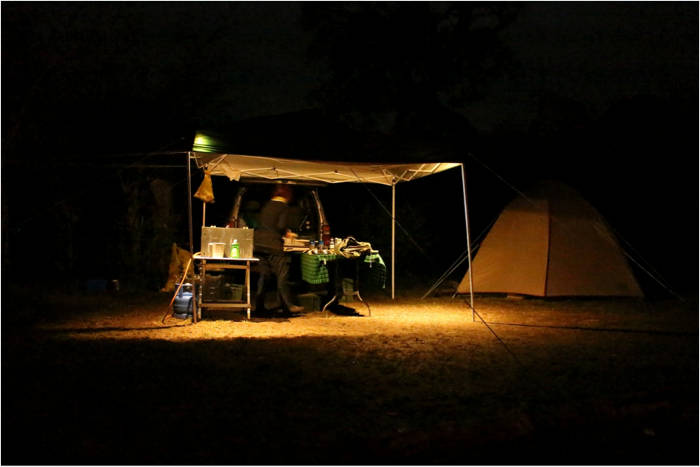 private mobile camp wildebeest